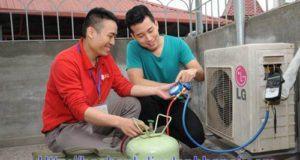 Nạp ga điều hòa tại Thanh Xuân