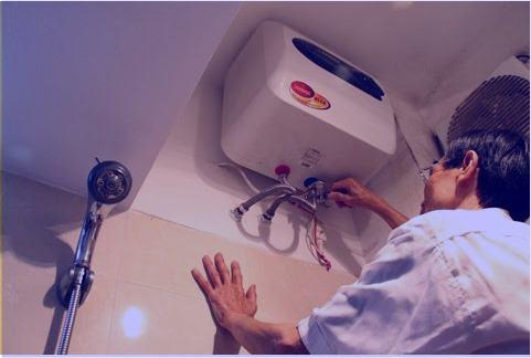 tự sửa bình nóng lạnh tại nhà