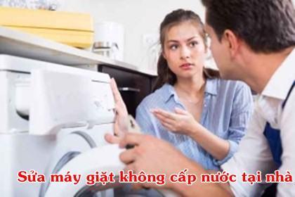 Sửa máy giặt không cấp nước