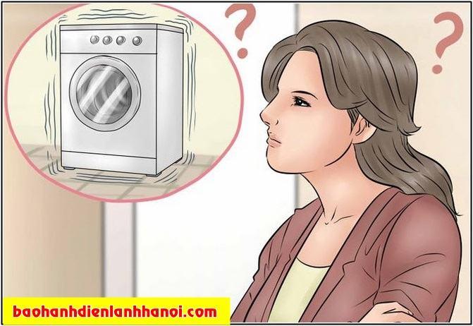 máy giặt rung lắc
