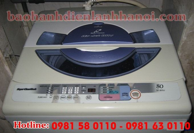 Dịch vụ sửa máy giặt Hitachi tại nhà Hà Nội