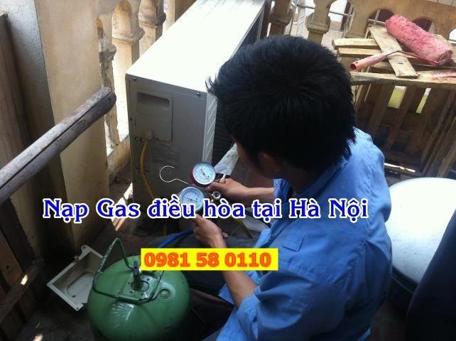 Nạp gas điều hòa uy tín tại nhà