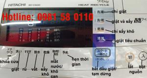 mã lỗi máy giặt Hitachi nội địa, Nhật bãi