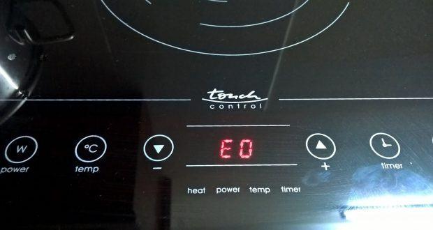 Sửa Bếp từ không nhận nồi, bếp từ báo lỗi e0