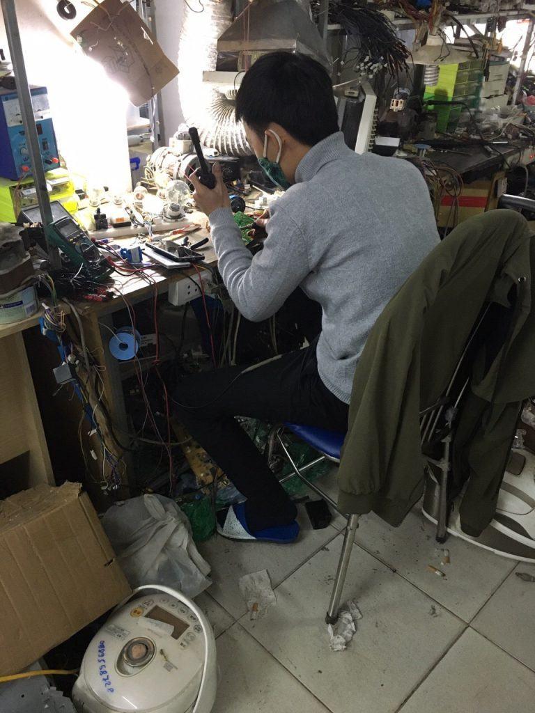 Sửa chữa bo mạch máy giặt LG chuyên nghiệp tại Hà Nội