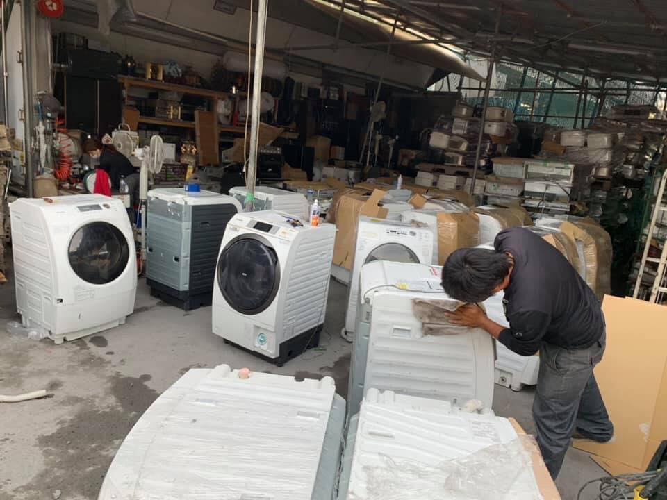 Thu mua máy giặt nội địa Nhật