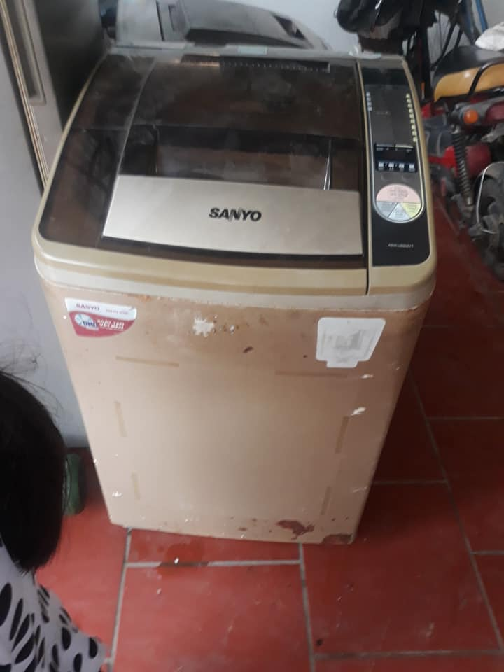 bảng mã lỗi máy giặt Sanyo inverter