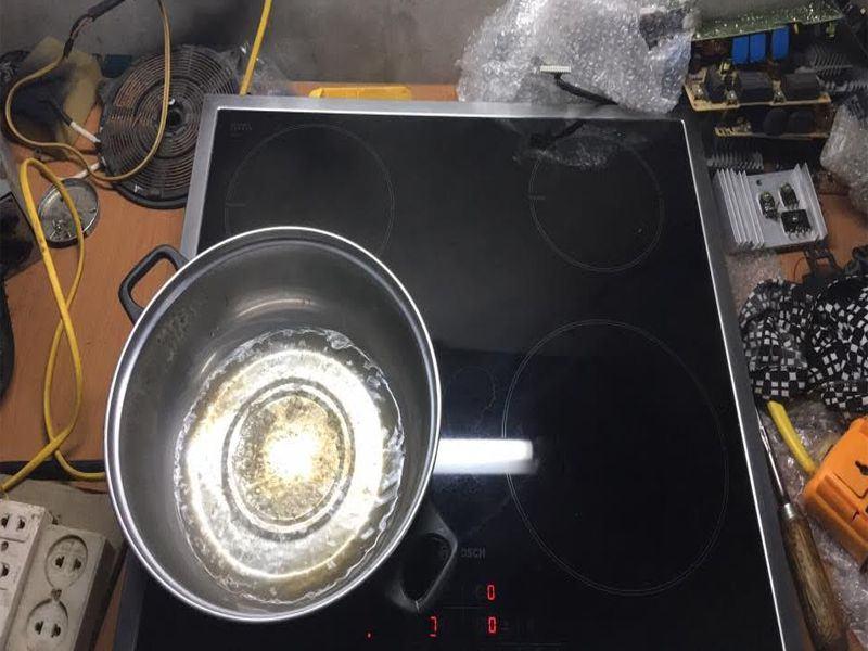 Những lỗi thường gặp trong quá trình sửa chữa bếp từ
