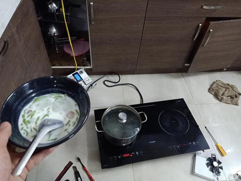 Quy trình sửa chữa bếp từ tại Hoàng Mai chuyên nghiệp