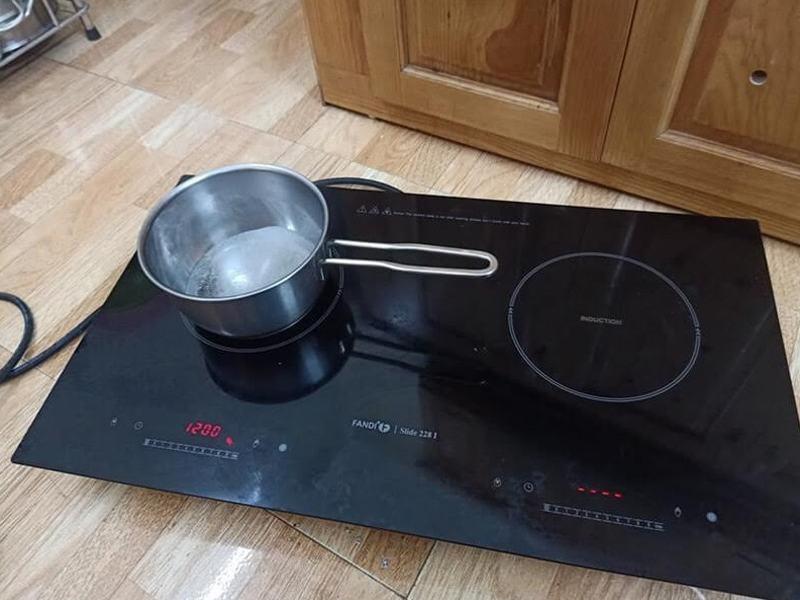 Quy trình thực hiện sửa chữa bếp từ tại Baohanhdienlanhhanoi