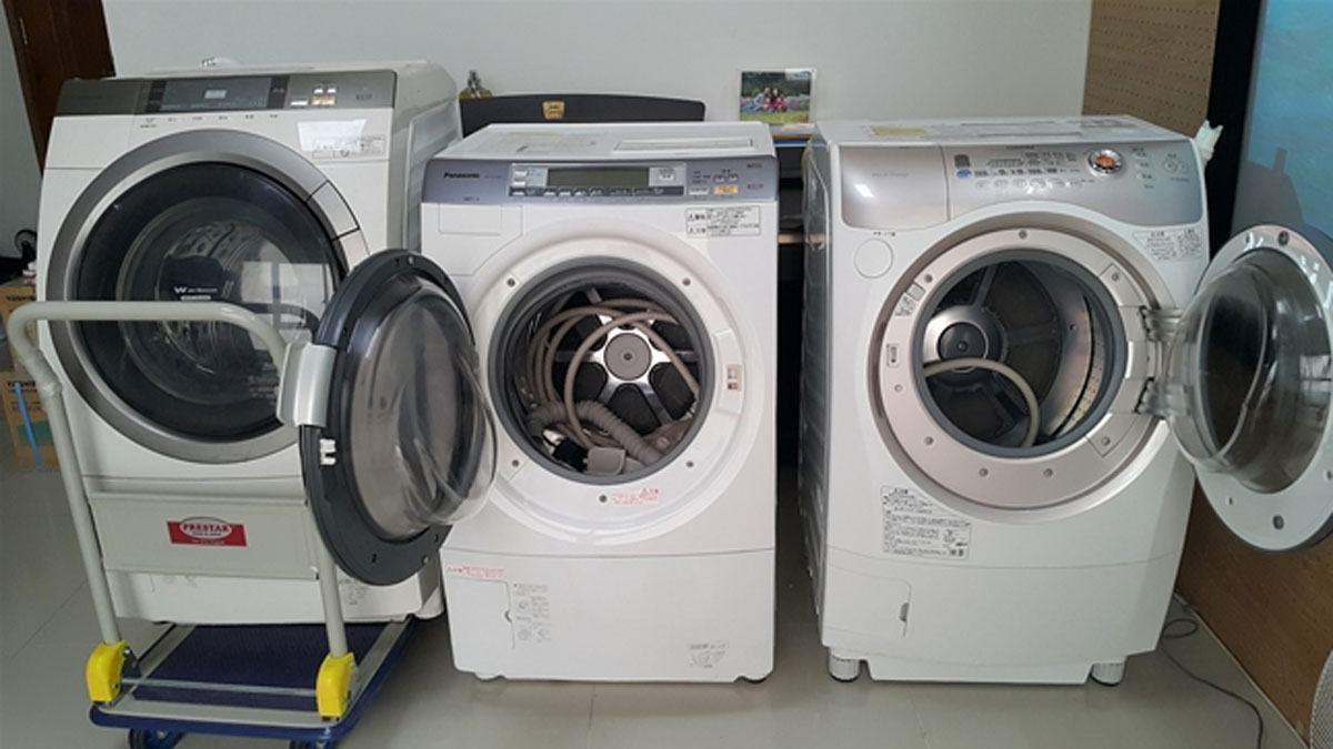 sửa chữa máy giặt nội địa Nhật Bãi tại nhà Hà Nội