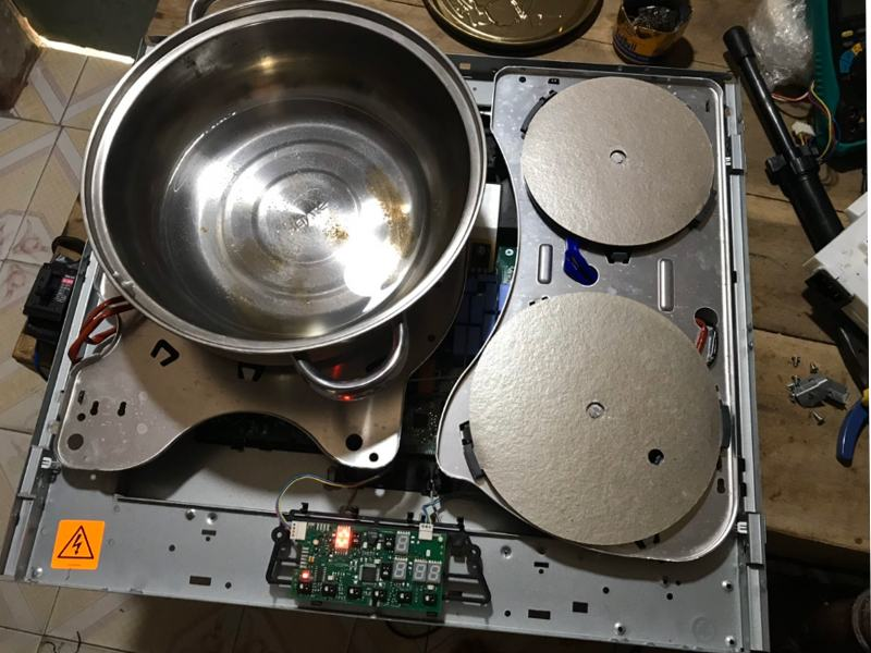 Một số lỗi thường gặp trong quá trình sử dụng bếp từ tại nhà