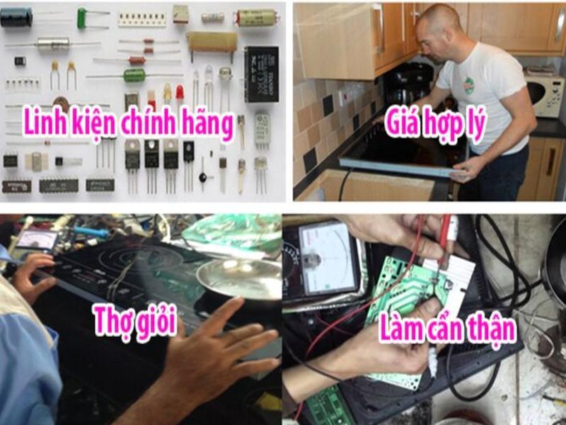 5 bước sửa chữa bếp từ tại Trung tâm sửa chữa điện lạnh tại Hà Nội