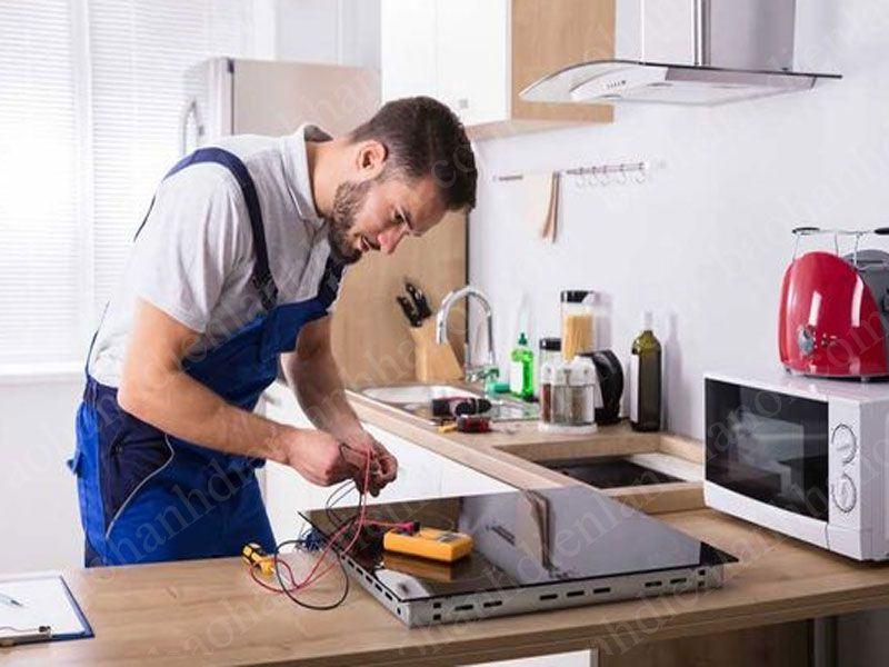 Quy trình sửa chữa bếp từ tại thị trấn Chúc Sơn Chương Mỹ Hà Nội