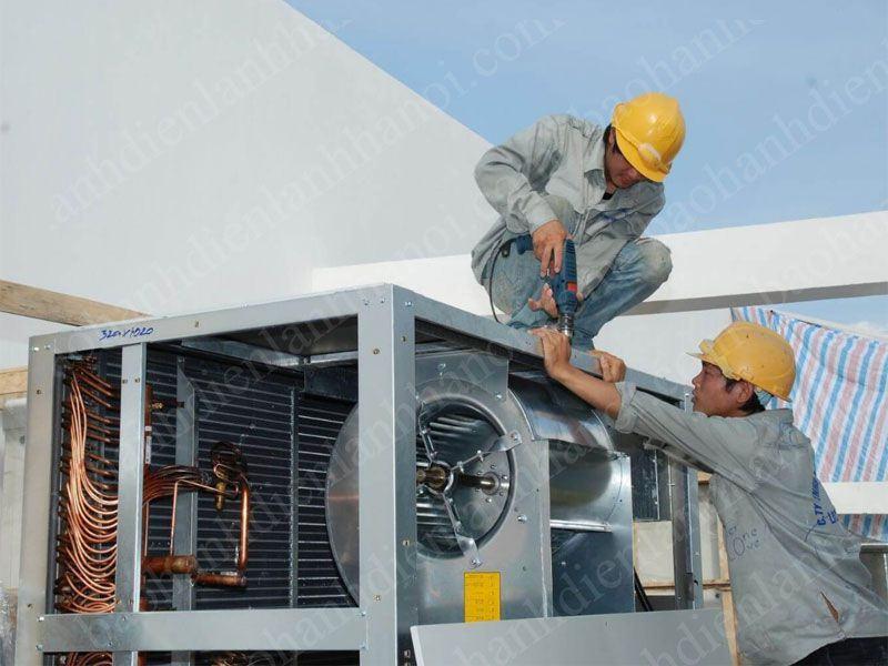 Dịch vụ sửa chữa điều hòa tại Đội Cấn cam kết với khách hàng