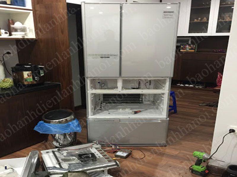 Tủ lạnh nội địa Nhật bãi bị hư hỏng nguyên nhân do đâu?