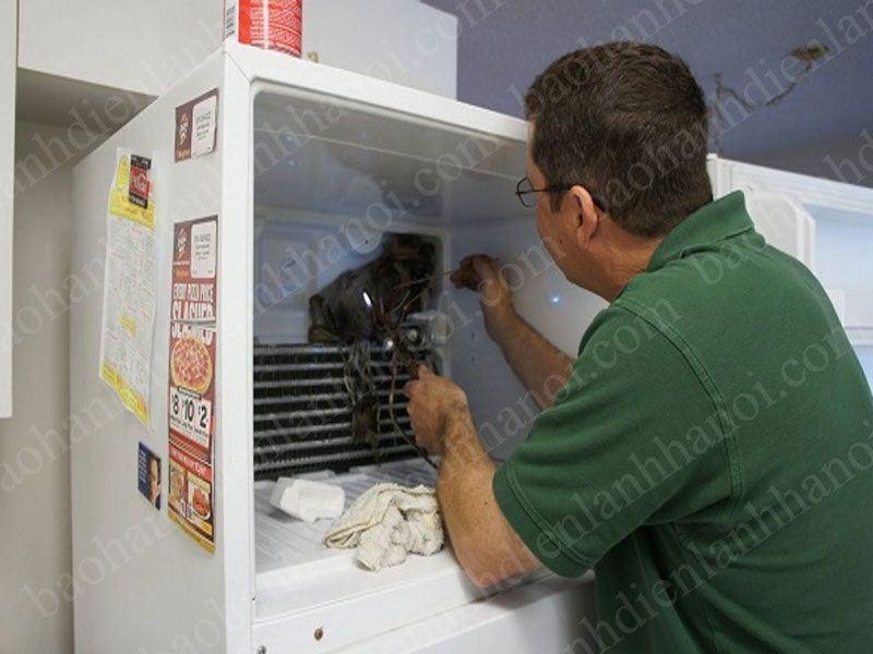 Quy trình sửa chữa tủ lạnh tại thị trấn Chúc Sơn Chương Mỹ Hà Nội