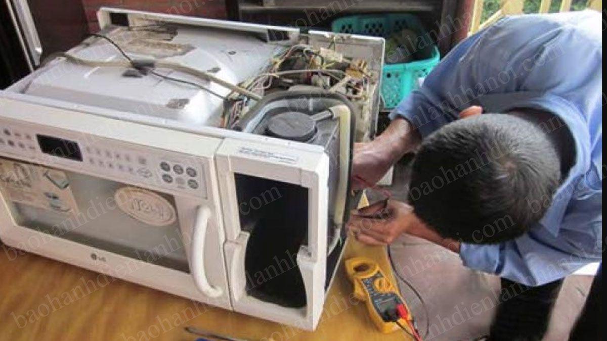 sửa chữa lò vi sóng tại quận Đống Đa