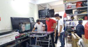 sửa chữa tivi tại Trung Hòa Nhân Chính