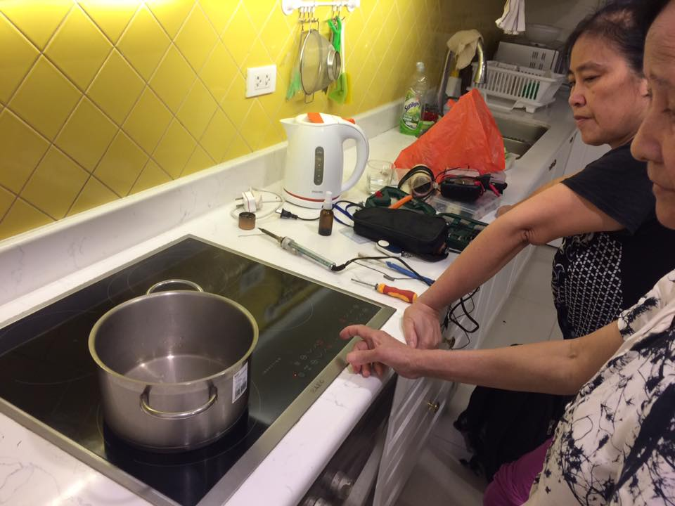 trung tâm Bách Khoa sửa bếp từ tại Hà nội